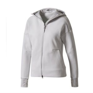 Adidas ZNE Hood2 Pulse Hoodie S Grey NWT